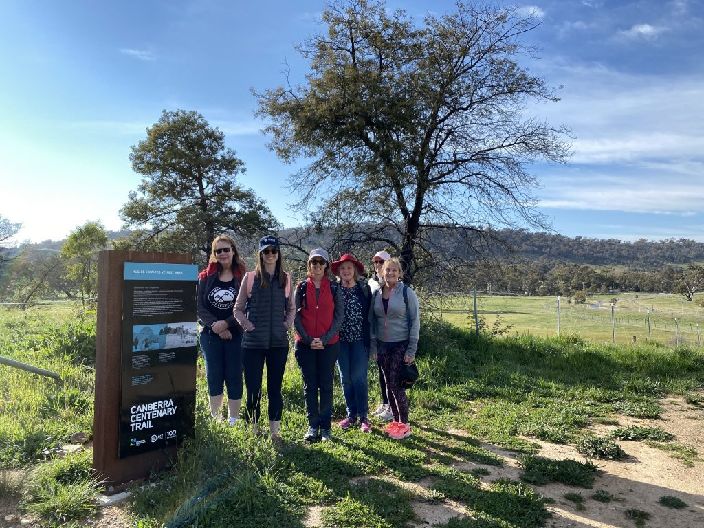 Centenary Trail Walking Group – Our First Walk