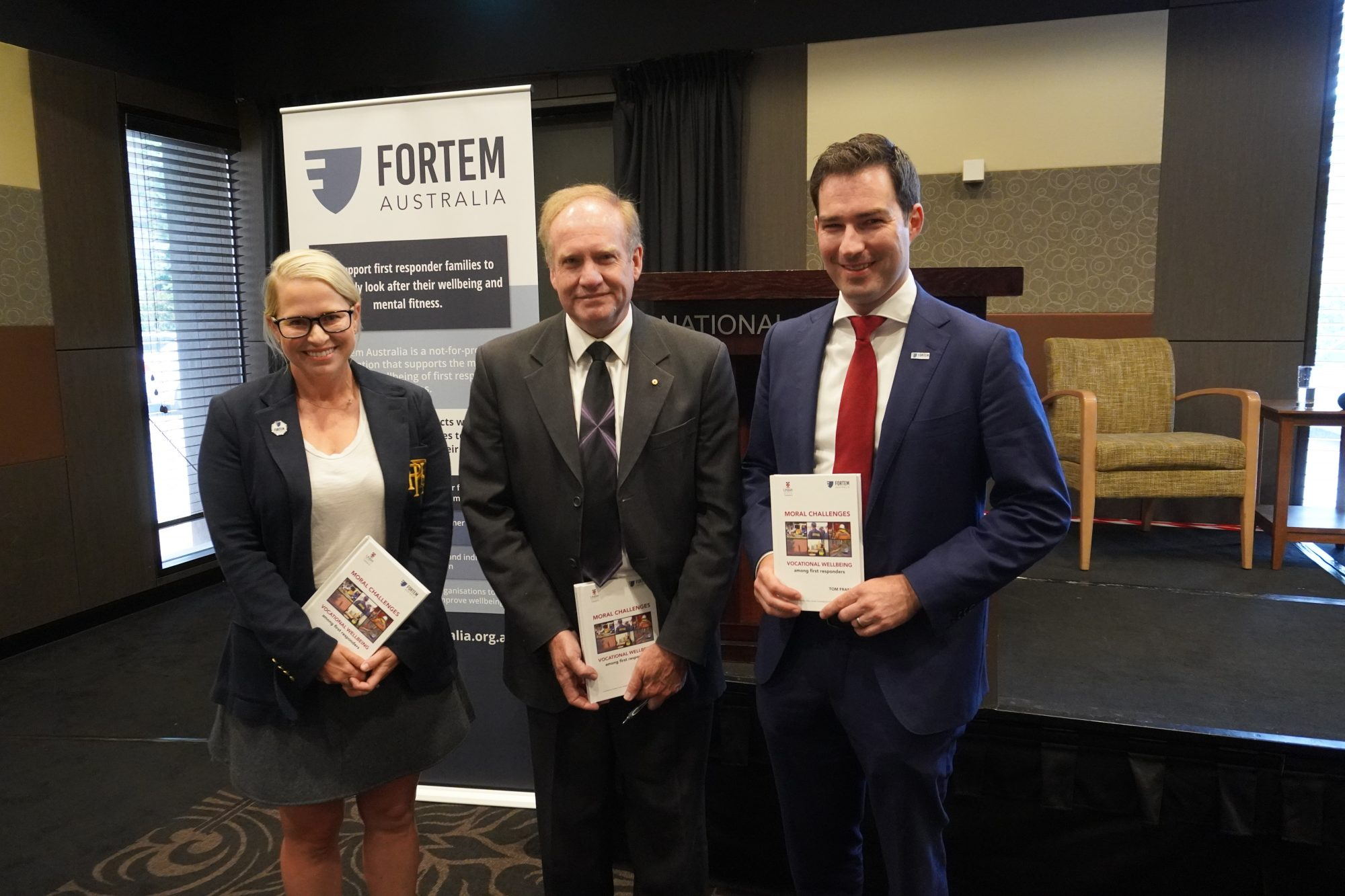 """Book Launch """"Moral Challenges: Vocational Wellbeing among first responders"""""""