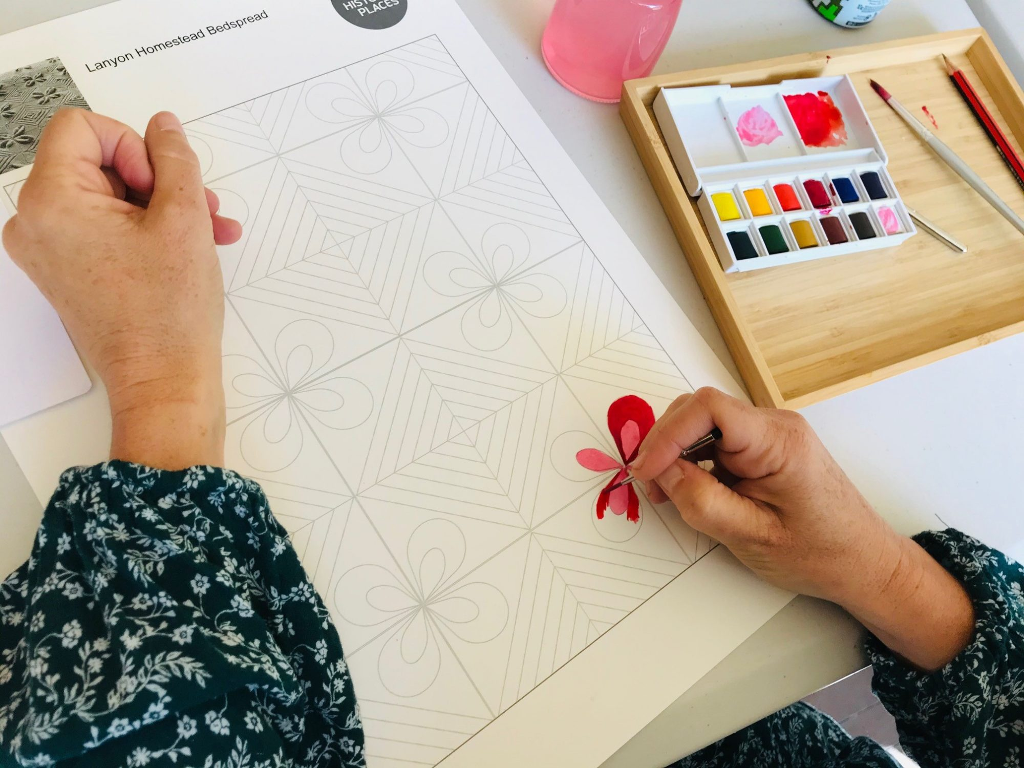 Wellbeing with Watercolour Painting | Canberra Region Activity Wrap Up
