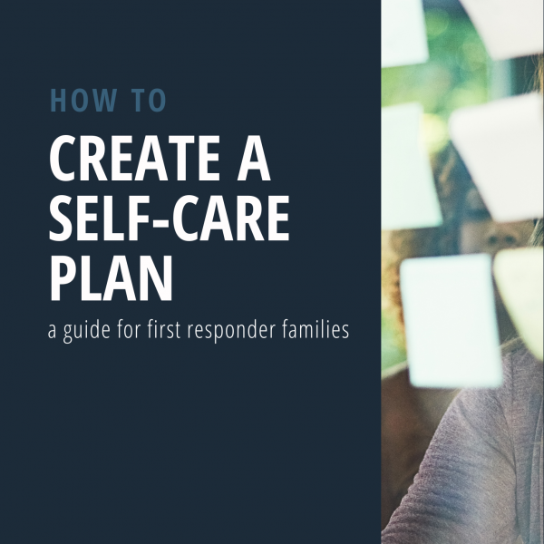Create a self-care plan - PDF Guide