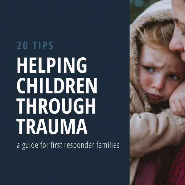 Cover - Helping children through trauma