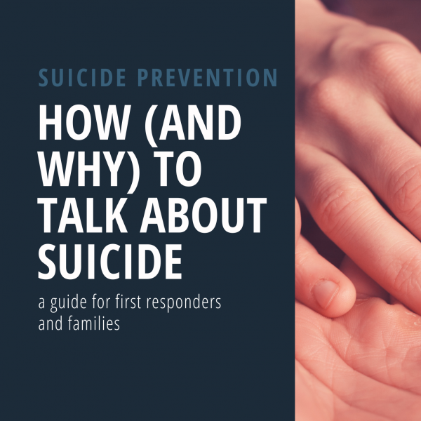 Cover - Talk about suicide